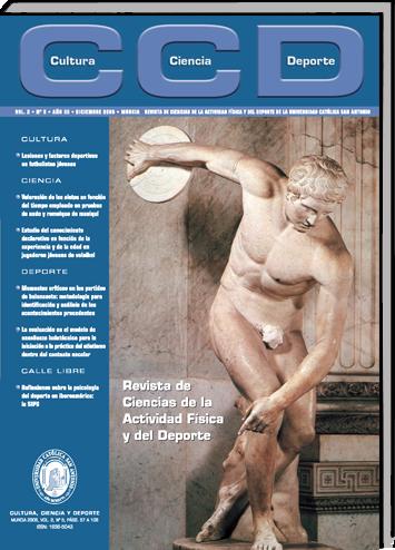 Revista de Ciencias de la Actividad Física y del Deporte