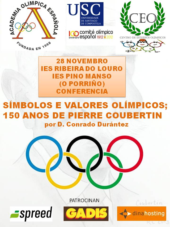 O Porriño - Valores Olímpicos - Conrado Durántez